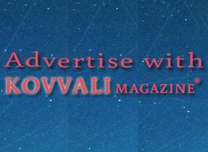 Advertise with KOVVALI Magazine